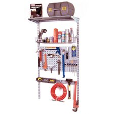 <strong>Triton Products</strong> Storability LocBoard Wall Mount Storage System Set