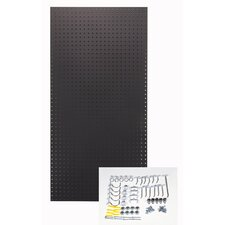 Custom Painted Heavy Duty Tempered Round Hole Pegboards