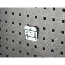 <strong>Triton Products</strong> LocHook Zinc Plated Steel BinClip for LocBoard, 5 Pack
