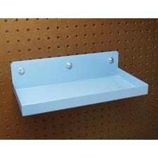 <strong>Triton Products</strong> DuraHook 12 In. W x 6 In. Deep Blue Epoxy Coated Steel Shelf for DuraBoard