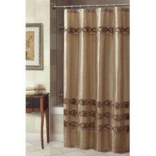 <strong>Croscill Home Fashions</strong> Jasmin Polyester Shower Curtain