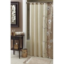 Magnolia Polyester Shower Curtain