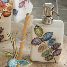 Mosaic Leaves Soap Dispenser
