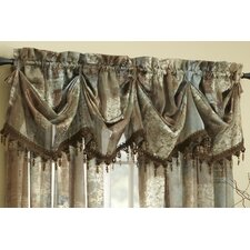 <strong>Croscill Home Fashions</strong> Madagascar Polyester Sheer Curtain Valance