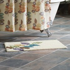 <strong>Croscill Home Fashions</strong> Mosaic Leaves Bath Rug