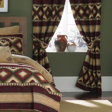 <strong>Croscill Home Fashions</strong> Navajo Polyester Rod Pocket Drape Panel (Set of 2)