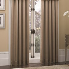 Pebble Polyester Rod Pocket Curtain Panel