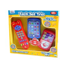 <strong>Kidz Delight</strong> Tech Trio Set Educational Toy