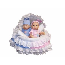 Bellini Twin Baby Doll Ensemble