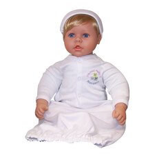 "<strong>Molly P. Originals</strong> 20"" Nursery Collection Baby Doll Medium Blonde / Blue Eyes"