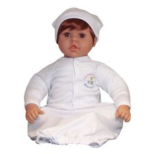 "<strong>Molly P. Originals</strong> 20"" Nursery Collection Baby Doll Brown Eyes / Medium Reddish Honey"
