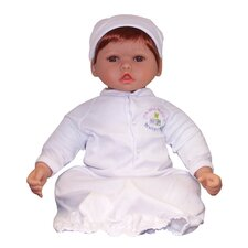 "<strong>Molly P. Originals</strong> 20"" Nursery Collection Baby Doll Medium Reddish Honey / Brown Eyes"