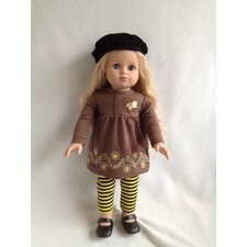 "<strong>Molly P. Originals</strong> 18"" Carrie Doll"