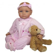 <strong>Molly P. Originals</strong> Wendi Doll with Plush Bear