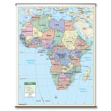 Primary Wall Map - Africa