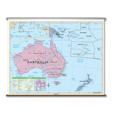 Essential Wall Map - Australia