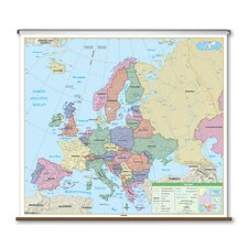 Essential Wall Map - Europe
