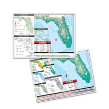 Thematic Deskpad Map - Florida