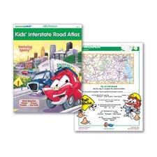 Kids' Interstate Road Atlas