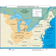 U.S. History Wall Maps - Northwest Territory