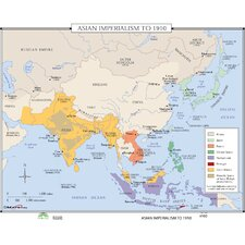 World History Wall Maps - Asian Imperialism