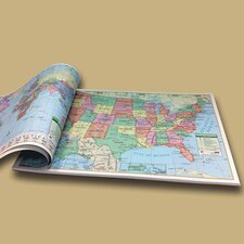 U.S. and World Study Map Pad