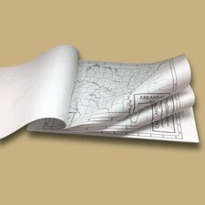 50 State Outline Map Pad