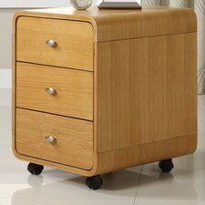 Curve 3 Drawer Filing Cabinet