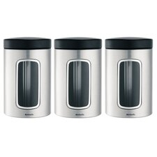 <strong>Brabantia</strong> Window Canister (Set of 6)