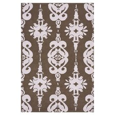 Classic Brown/Soft Pink Kids Rug