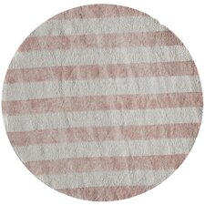 Classic Pink / Ivory Area Rug