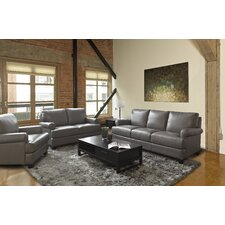 Brett Leather Sofa
