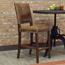 "Green Valley 24"" Bar Stool with Cushion"