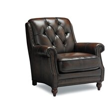 <strong>Sofas to Go</strong> Casey Grain Leather Chair