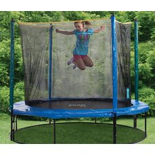 8' Round Trampoline with Enclosure