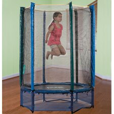"Kid's 55"" Trampoline with Enclosure"