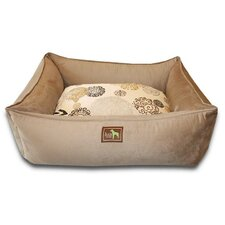 Zen Easy-Wash Cover Lounge Donut Dog Bed