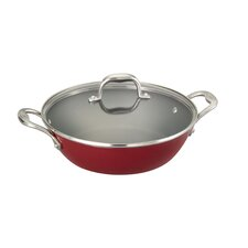 5-qt. Cast Iron Round Braiser Pan with Lid