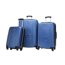 IZOD Voyager 3 Piece Spinner Suitcase Set
