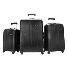 Skyway Nimbus 3 Piece Spinner Suitcase Set