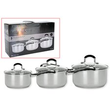 Hell's Kitchen II Luna 3 Piece Pan Set