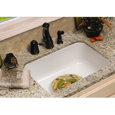 "Optimum Series 22.75"" x 17.5"" Kenyon Single Bowl Undermount Kitchen Sink"