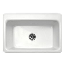 "Advantage Series 33"" x 22"" Coventry Single Bowl Extra Large Self Rimming Kitchen Sink"