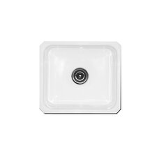 "<strong>CorStone</strong> Optimum Series 18"" x 16"" Exeter Undermount Social Prep Kitchen Sink"