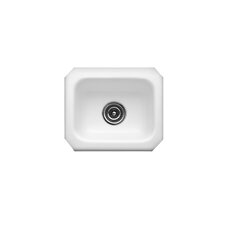 "Optimum Series 15"" x 12.25"" Kingston Undermount Social Prep Kitchen Sink"