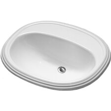 <strong>CorStone</strong> Advantage Williston Self Rimming Oval Bathroom Sink