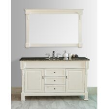 "<strong>Stufurhome</strong> Galaxy 60"" Single Sink Bathroom Vanity Set"