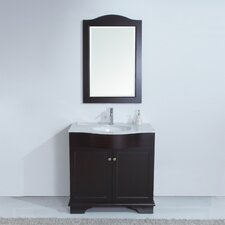 "35"" Monaco Single Sink Vanity Set"