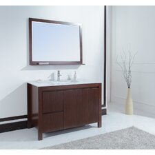 "<strong>Stufurhome</strong> 48"" Sierra Single Sink Vanity Set"
