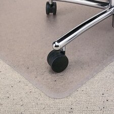 <strong>ES Robbins Corporation</strong> Rectangle Chair Mat, Multi-Task Series Anchorbar for Carpet Up To 0.38""